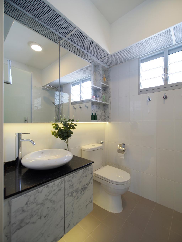 Contemporary, HDB, Bathroom, Henderson Road, Interior Designer, Urban Habitat Design