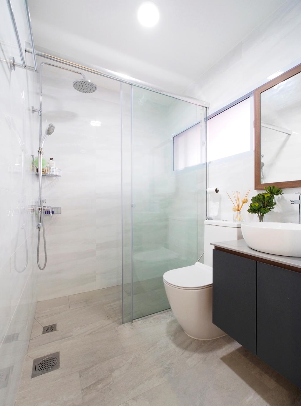 Contemporary, Landed, Bathroom, Fulton Avenue, Interior Designer, Urban Habitat Design, Modern