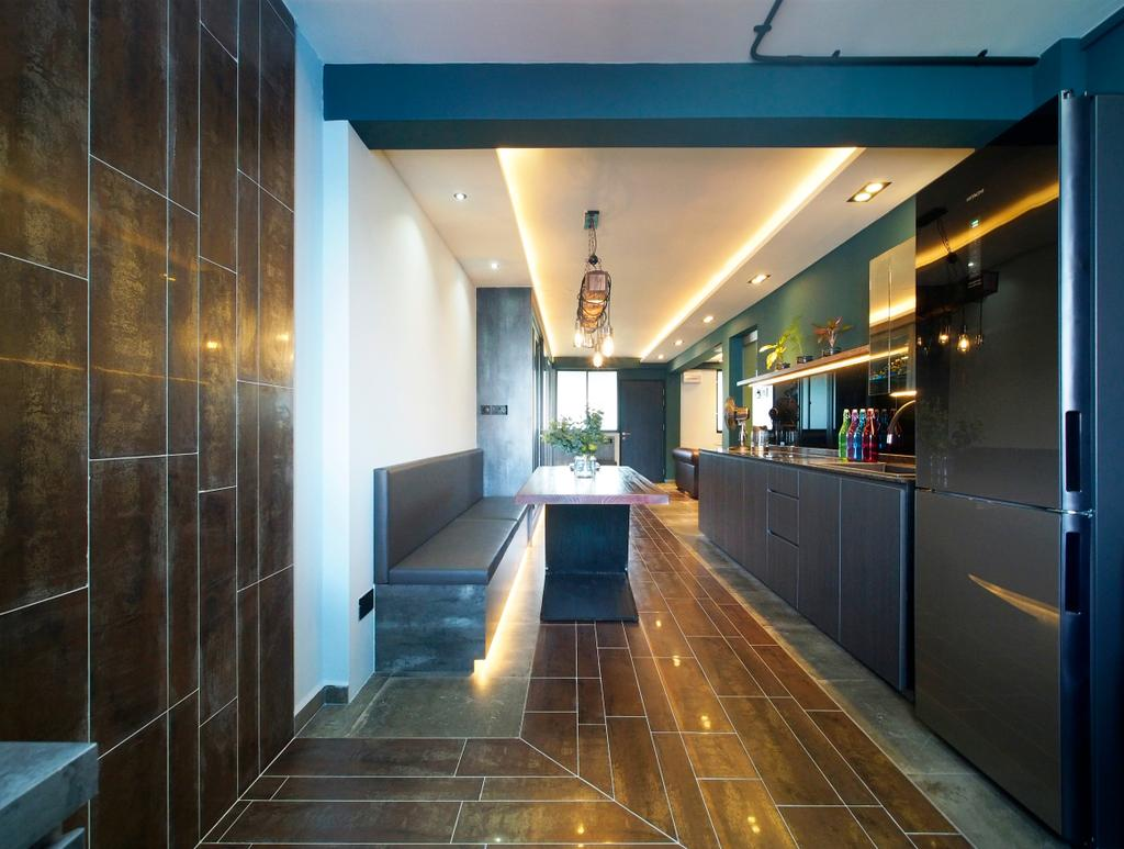 Contemporary, HDB, Dining Room, Bendemeer Road, Interior Designer, Urban Habitat Design