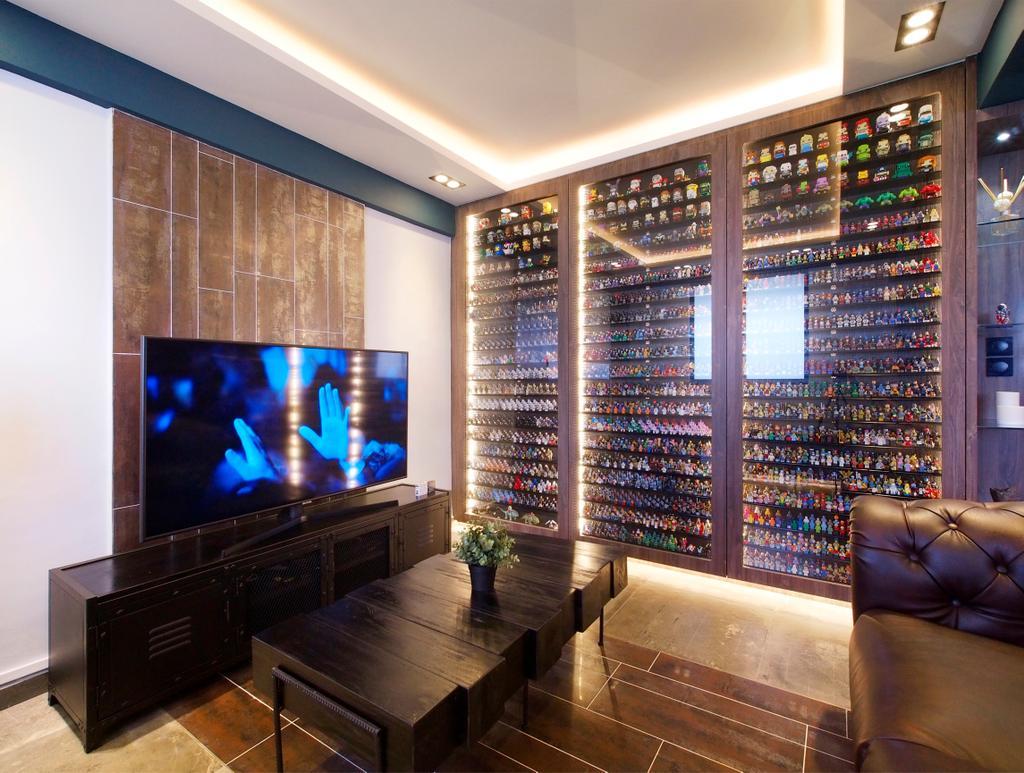 Contemporary, HDB, Living Room, Bendemeer Road, Interior Designer, Urban Habitat Design