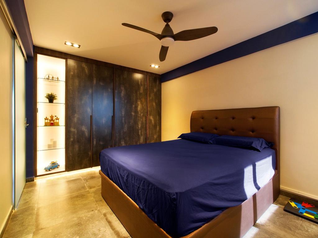 Contemporary, HDB, Bedroom, Bendemeer Road, Interior Designer, Urban Habitat Design