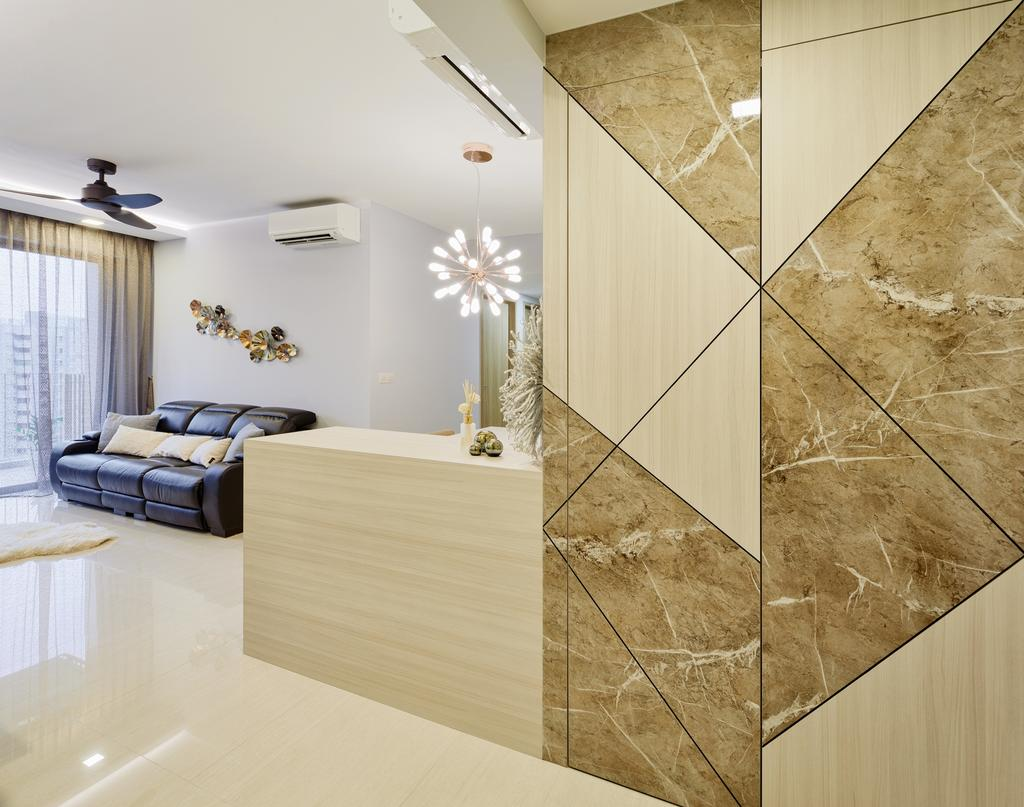 Contemporary, Condo, Living Room, Sol Acres, Interior Designer, Absolook Interior Design