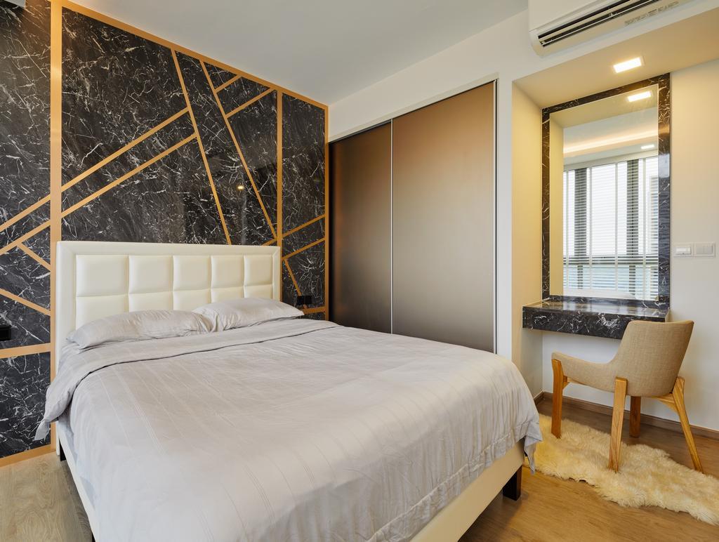 Contemporary, Condo, Bedroom, Sol Acres, Interior Designer, Absolook Interior Design