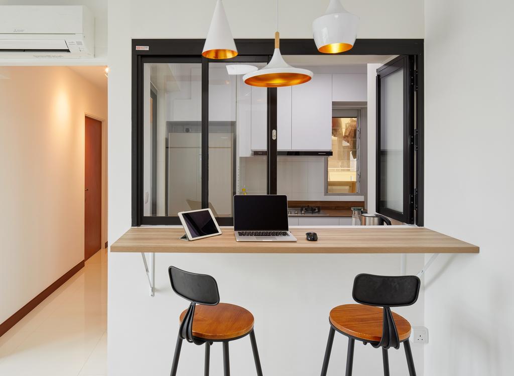 Contemporary, HDB, Clementi Ave 4, Interior Designer, Absolook Interior Design