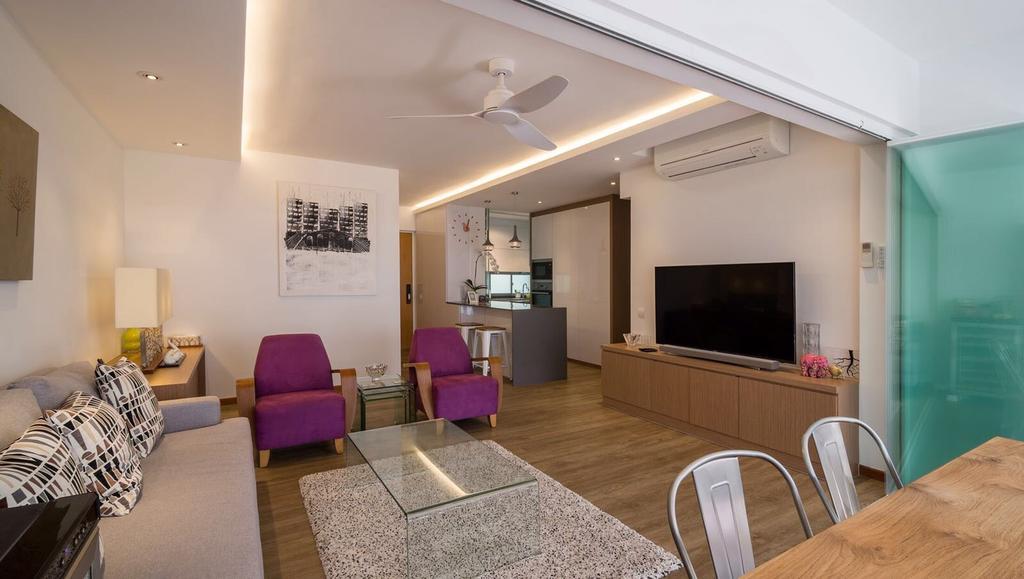 Scandinavian, HDB, Living Room, Simei Lane, Interior Designer, Swiss Interior Design