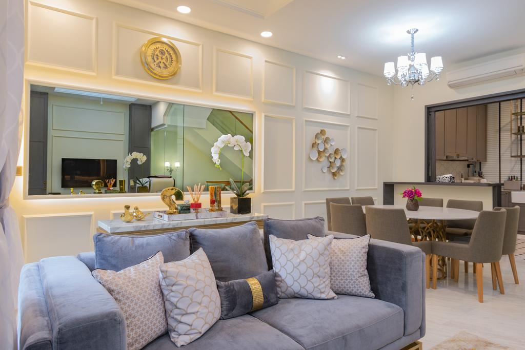 Contemporary, Landed, Living Room, Sunrise Terrace, Interior Designer, Imago Dei 3