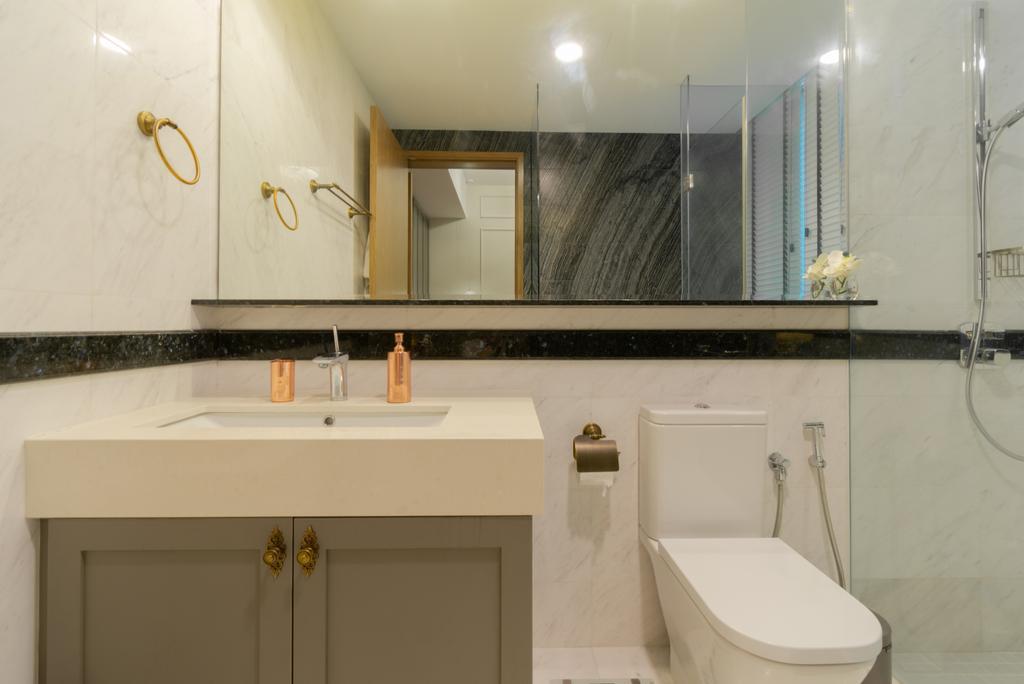 Contemporary, Landed, Bathroom, Sunrise Terrace, Interior Designer, Imago Dei 3