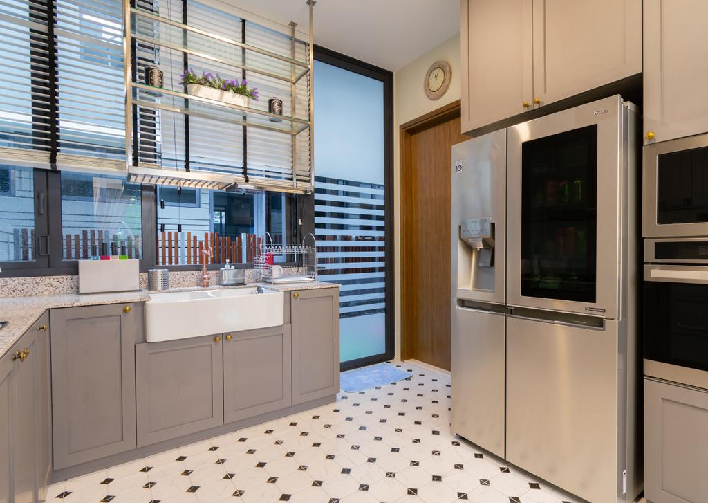 Contemporary, Landed, Kitchen, Sunrise Terrace, Interior Designer, Imago Dei 3