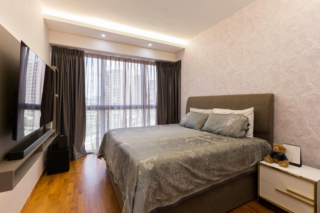 Contemporary, Condo, Bedroom, The Poiz Residences, Interior Designer, Craftwerkz Interior, Transitional