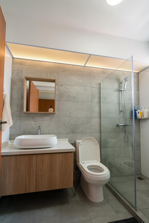 Scandinavian, HDB, Bathroom, Bedok North Street 4, Interior Designer, ELPIS Interior Design