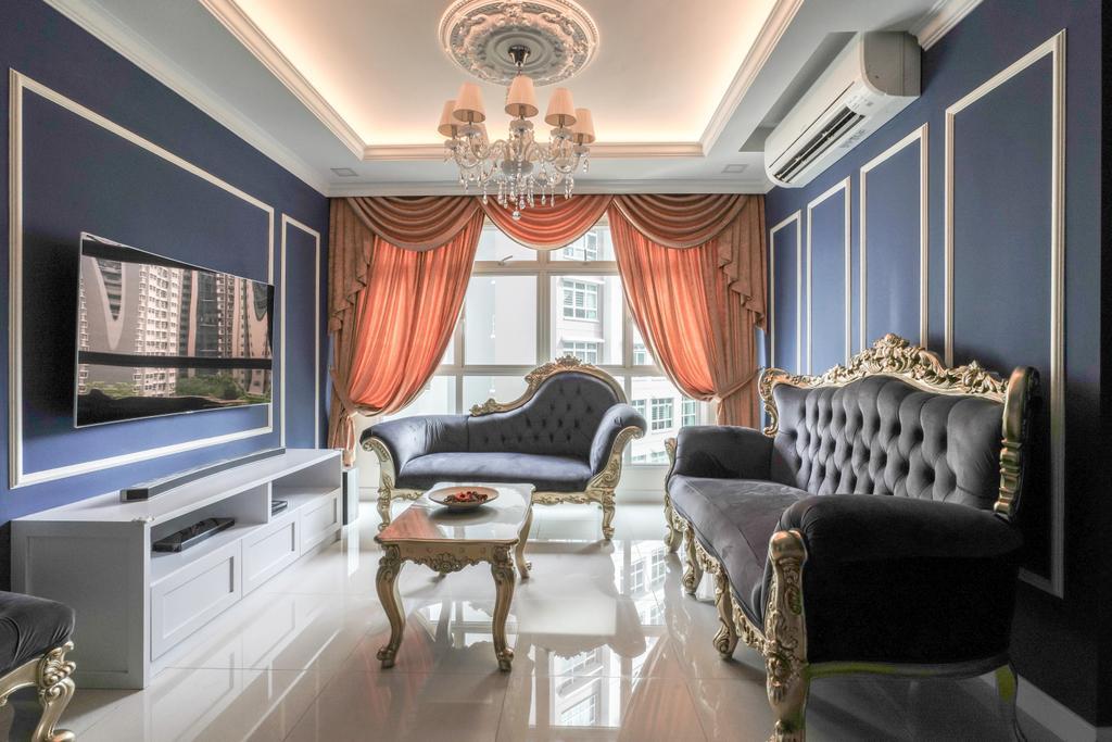 Vintage, HDB, Punggol, Interior Designer, Couple Abode