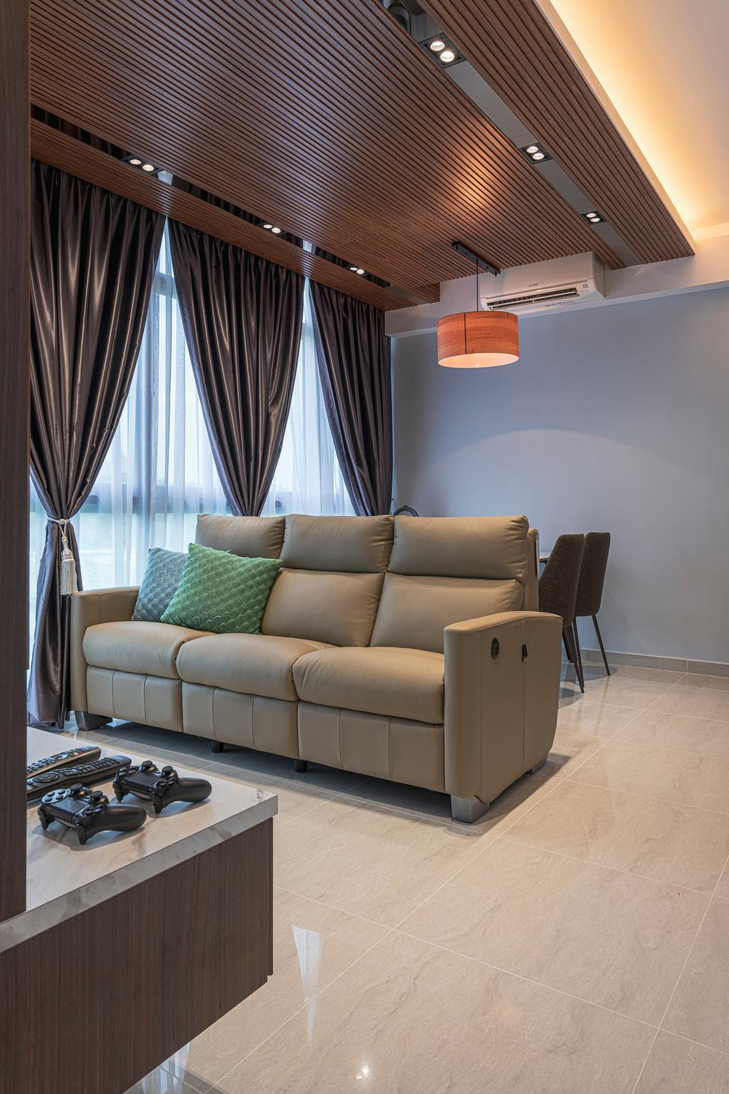 Contemporary, Condo, Living Room, Symphony Suites, Interior Designer, Zenith Arc
