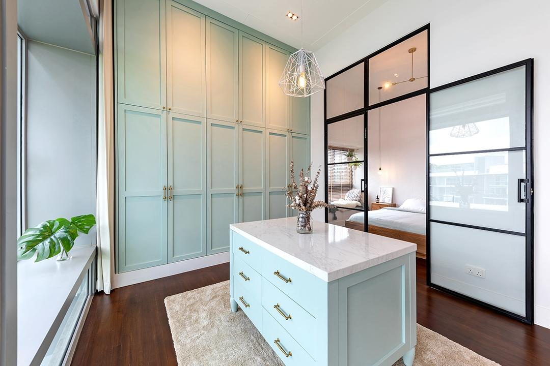 walk-in wardrobe ideas layout fittings fixtures