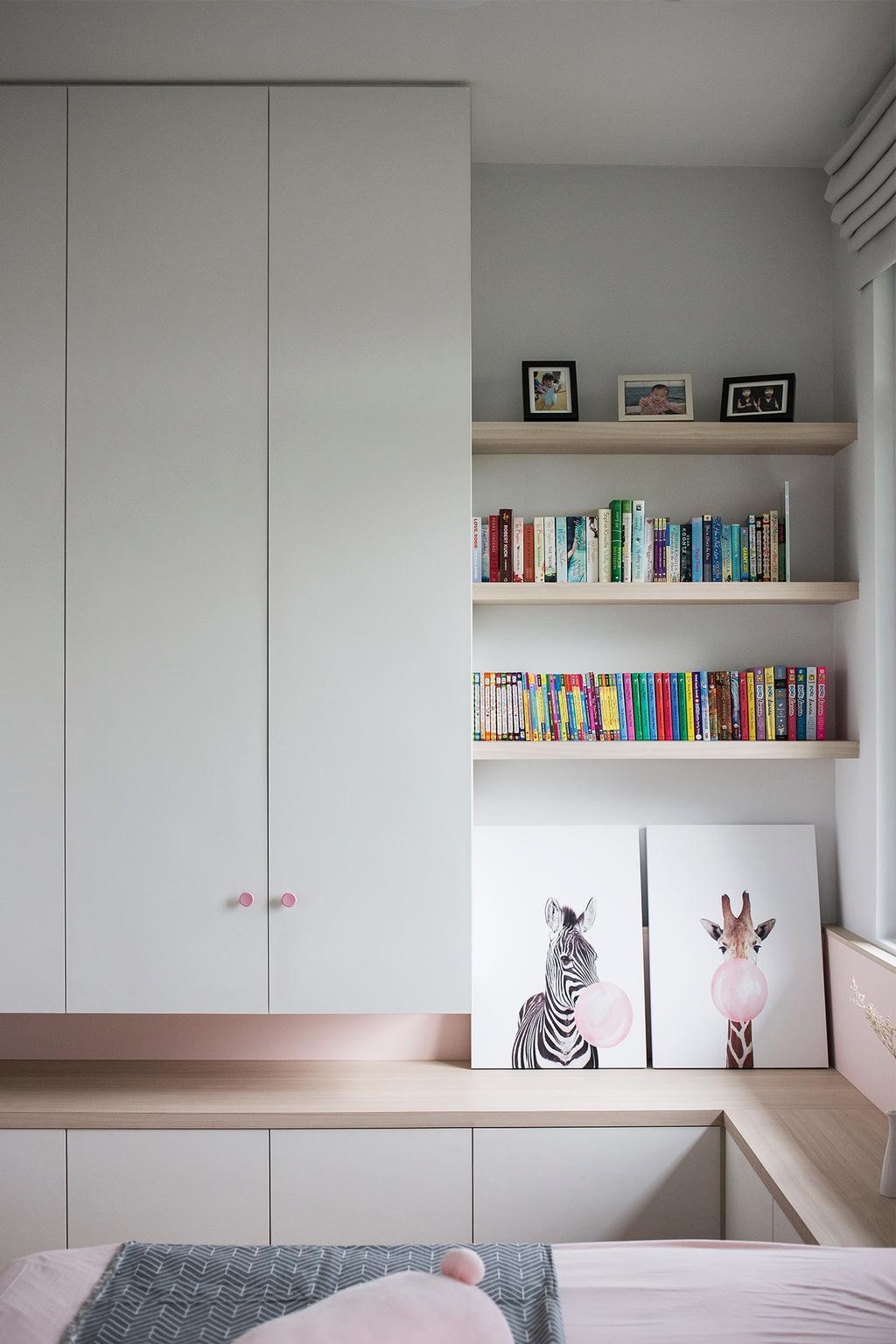 Vintage, Landed, Bedroom, Setia Eco Park, Setia Alam, Interior Designer, Box Design Studio Sdn Bhd