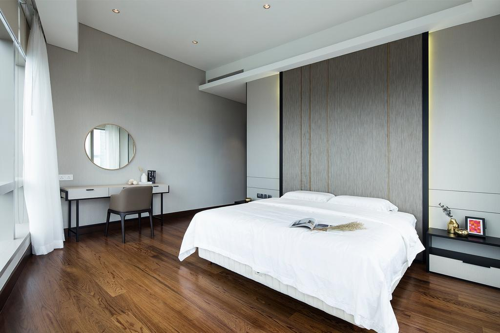 Modern, Condo, Bedroom, Banyan Tree Signatures, Kuala Lumpur, Interior Designer, Box Design Studio Sdn Bhd