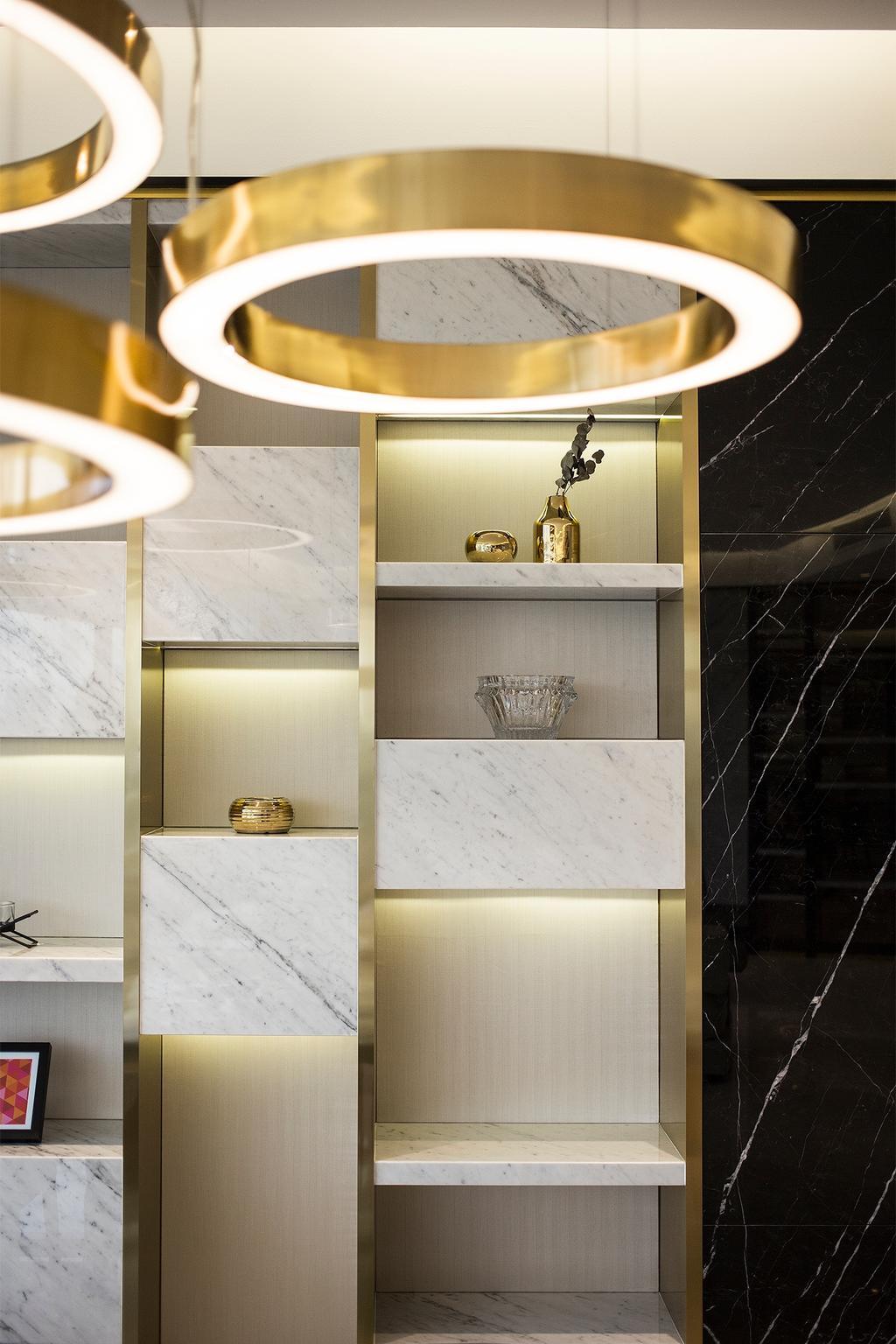 Modern, Condo, Dining Room, Banyan Tree Signatures, Kuala Lumpur, Interior Designer, Box Design Studio Sdn Bhd
