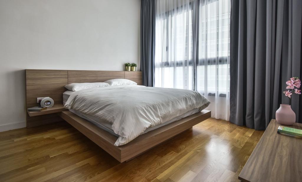 Modern, Condo, Bedroom, The Greens, TTDI, Interior Designer, IQI Concept Interior Design & Renovation
