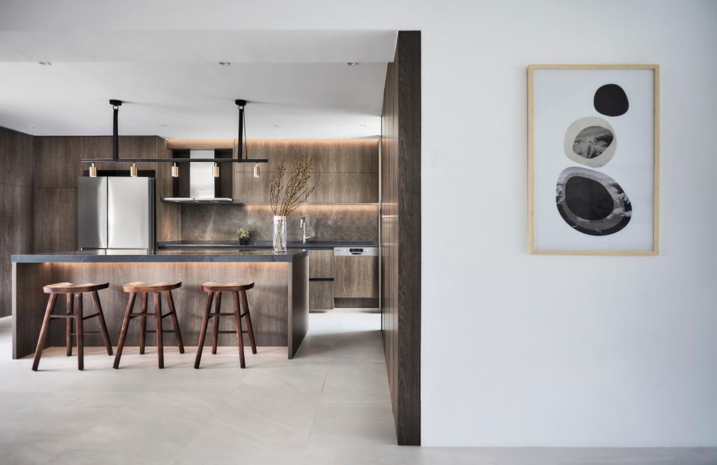 Minimalistic, HDB, Kitchen, Tampines Street 12 (Block 149), Interior Designer, Icon Interior Design, Modern