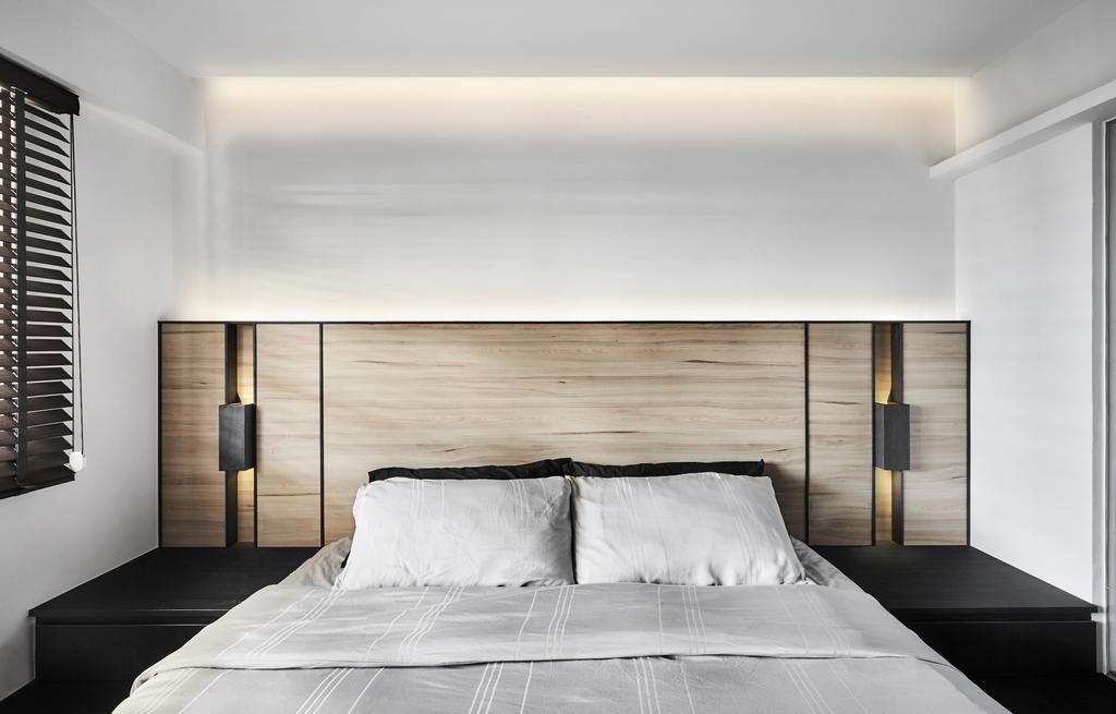Minimalistic, HDB, Bedroom, Tampines Street 12 (Block 149), Interior Designer, Icon Interior Design, Modern