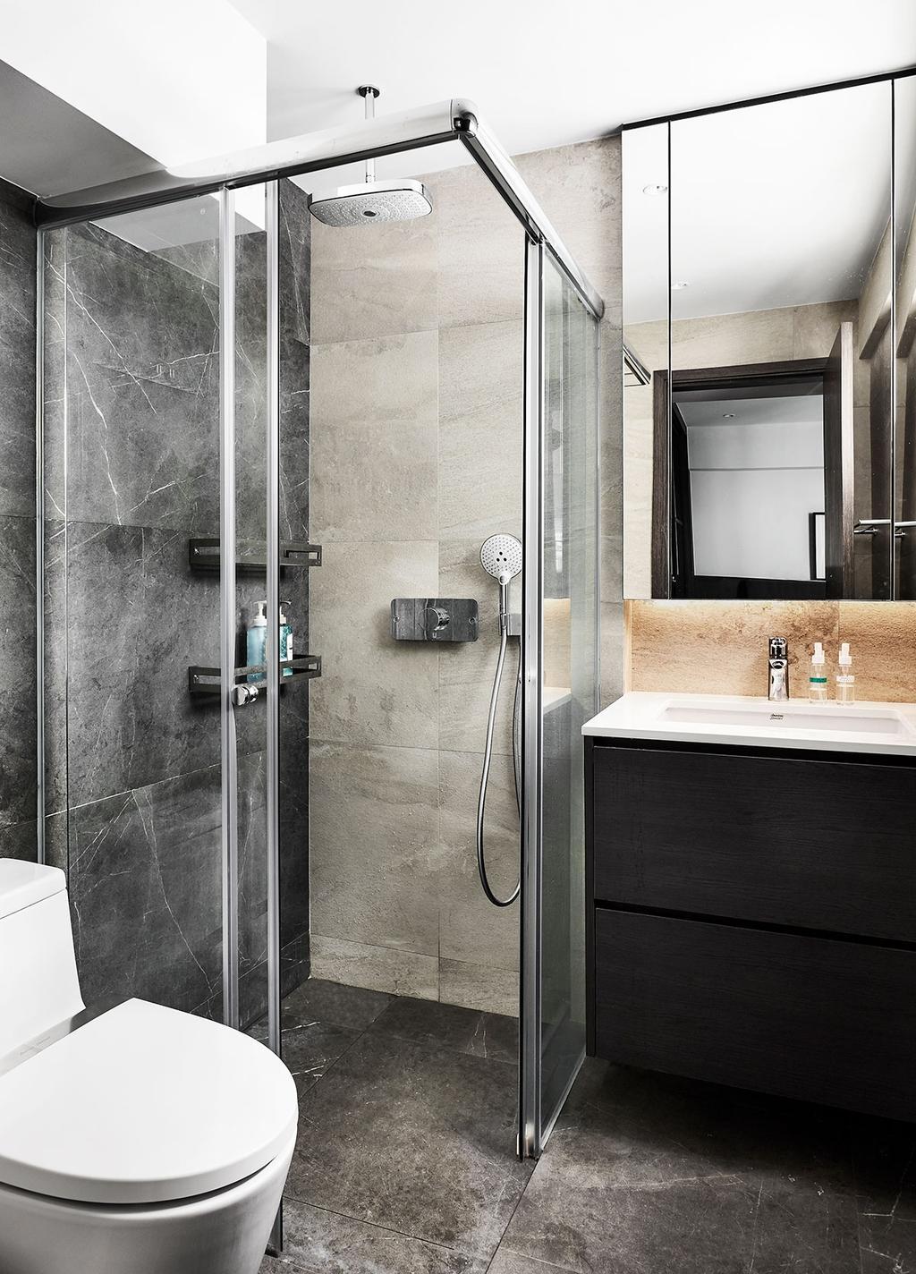 Modern, HDB, Bathroom, Bukit Batok Street 21, Interior Designer, Icon Interior Design