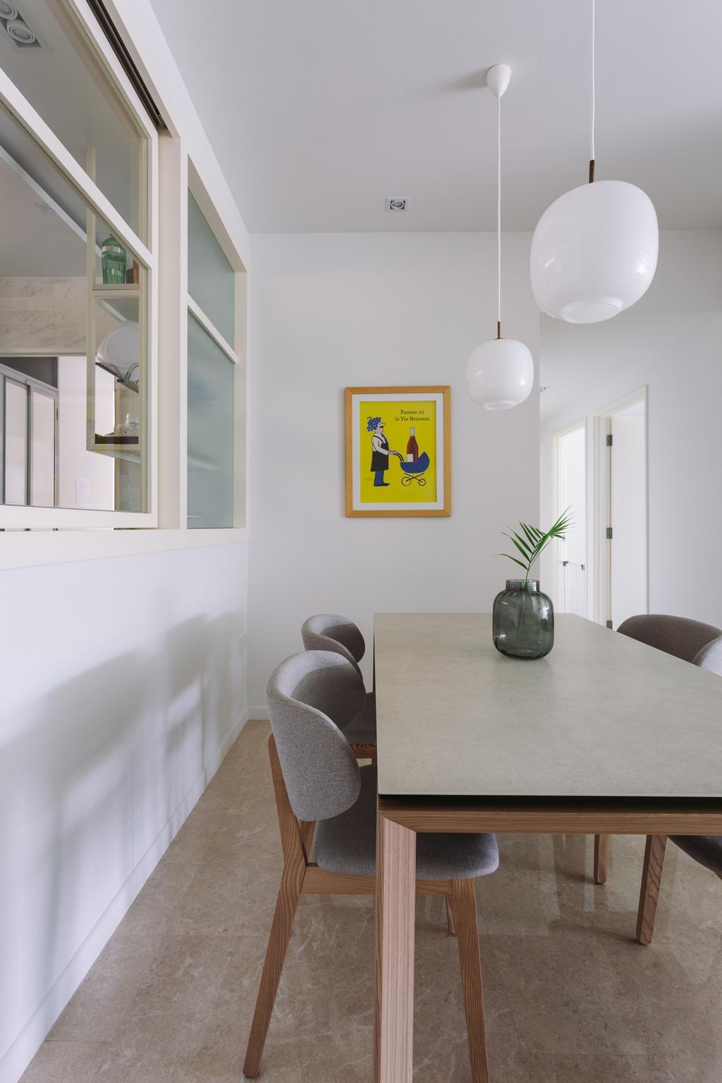 Scandinavian, Condo, Dining Room, The Amery, Interior Designer, Habit