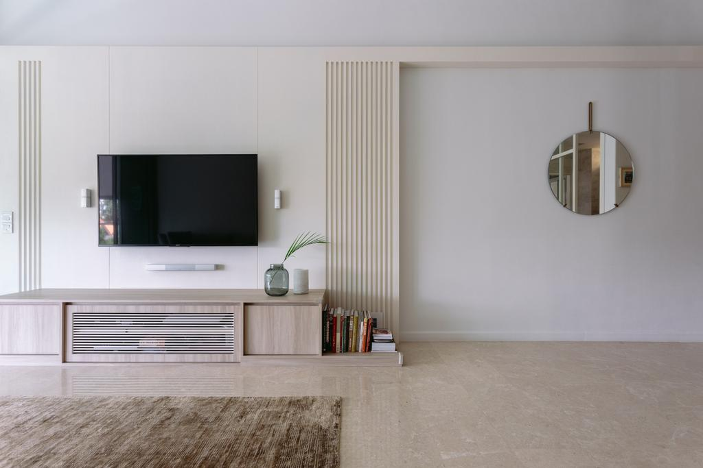 Scandinavian, Condo, Living Room, The Amery, Interior Designer, Habit
