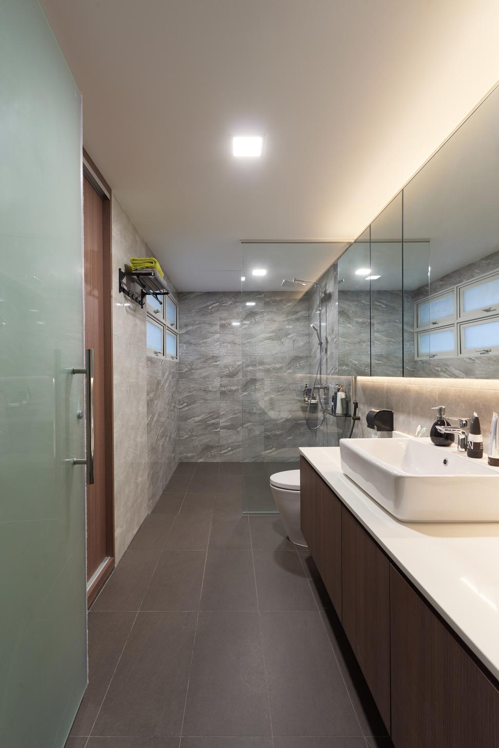 Contemporary, Condo, Bathroom, The Linear, Interior Designer, Charlotte's Carpentry