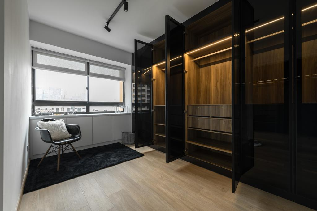 Contemporary, HDB, Dover Road, Interior Designer, Mr Shopper Studio