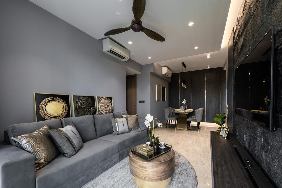 Kingsford Waterbay Living Room Interior Design 14