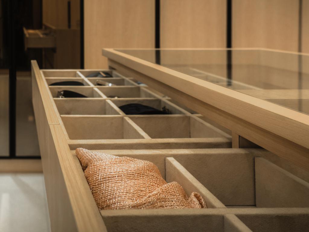 Modern, Landed, Bedroom, Bandar Puteri, Puchong, Interior Designer, Brickhaus Solutions Sdn. Bhd., Minimalistic, Contemporary, Walk In Wardrobe, Storage