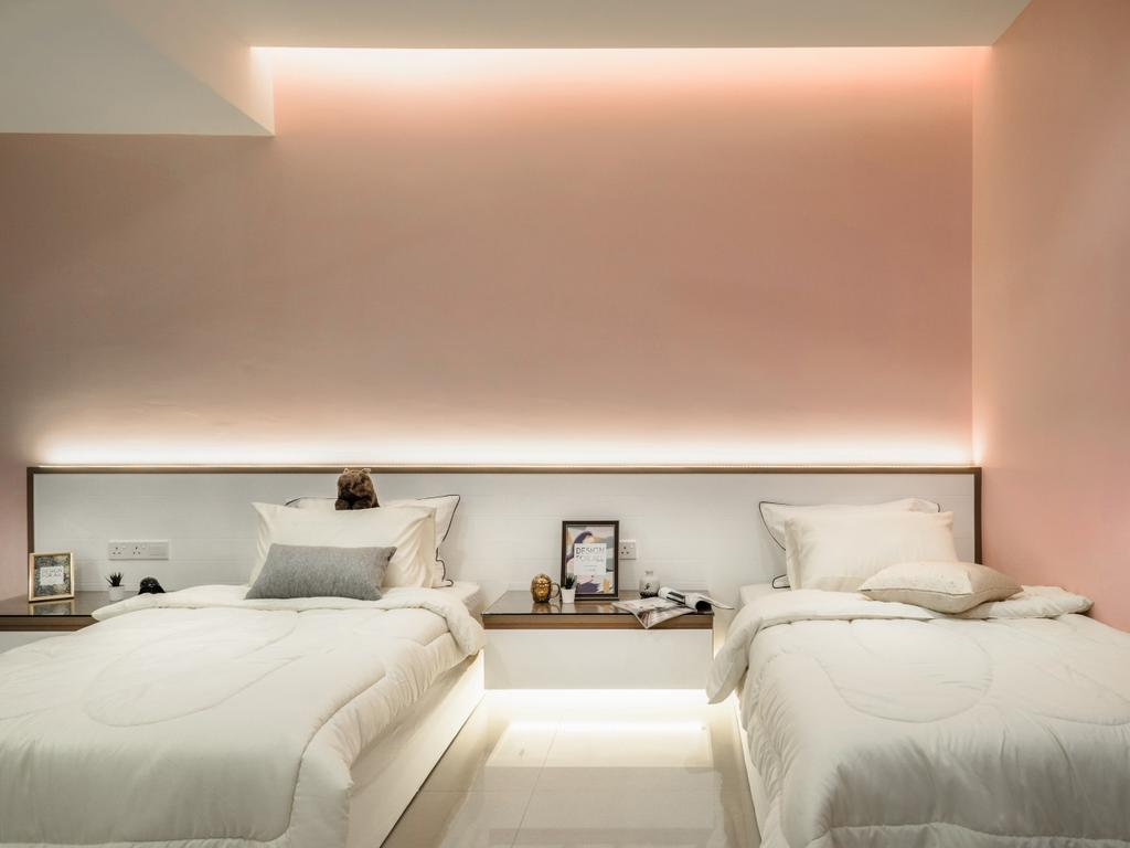 Modern, Landed, Bandar Puteri, Puchong, Interior Designer, Brickhaus Solutions Sdn. Bhd., Minimalistic, Contemporary