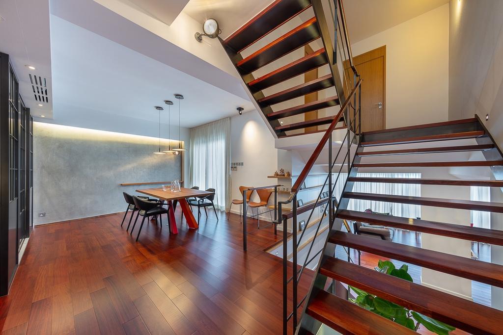 獨立屋, 飯廳, 西貢海濱別墅, 室內設計師, am PLUS Designs Limited