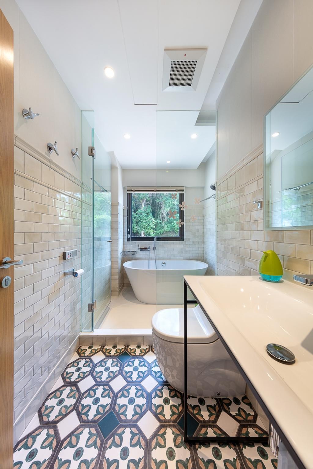 獨立屋, 浴室, 西貢海濱別墅, 室內設計師, am PLUS Designs Limited