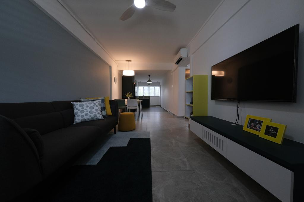 Contemporary, HDB, Living Room, Chai Chee Street, Interior Designer, Starry Homestead