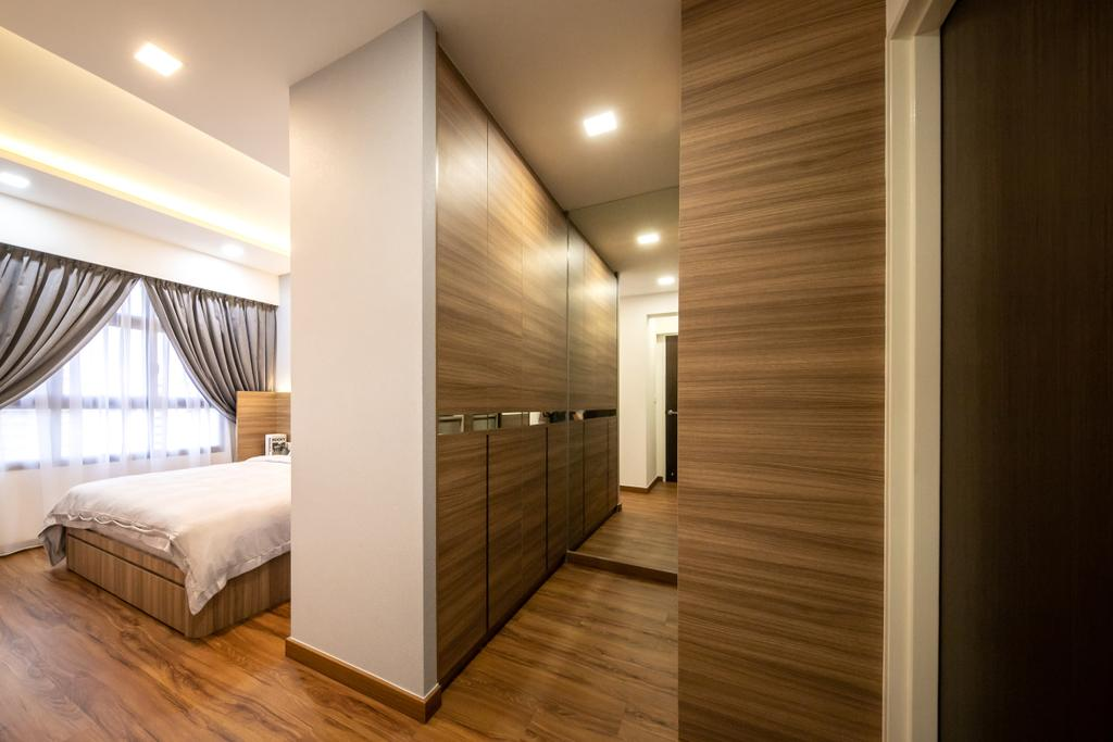 Contemporary, HDB, Bedroom, Tampines GreenRidges, Interior Designer, Space Atelier, Scandinavian
