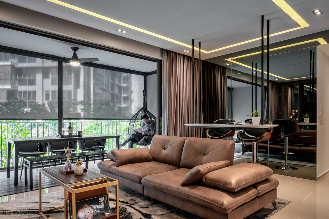 Leather Sofa Vs Fabric Sofa Which Is Better Qanvast
