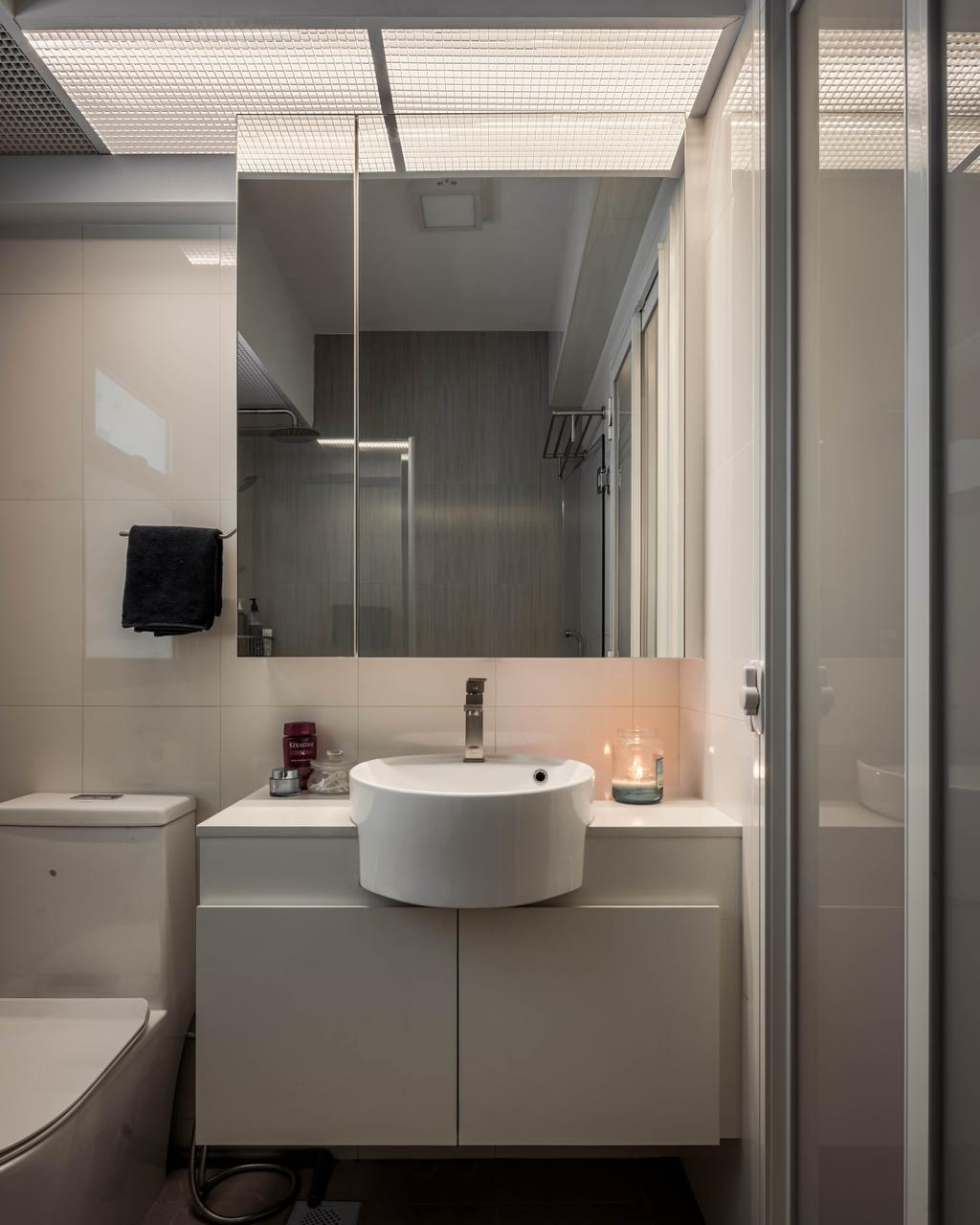 Contemporary, HDB, Bathroom, Sumang Lane, Interior Designer, Weiken.com