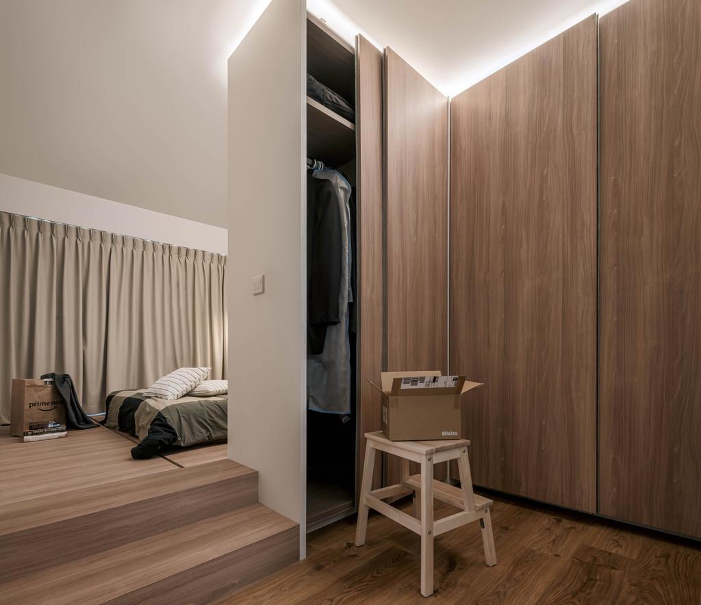 Contemporary, HDB, Bedroom, Sumang Lane, Interior Designer, Weiken.com