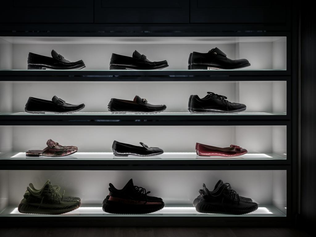 Contemporary, Condo, The Terrace, Interior Designer, Zenith Arc, Industrial, Shoe Storage, Shoe Collection, Shoe Cabinet