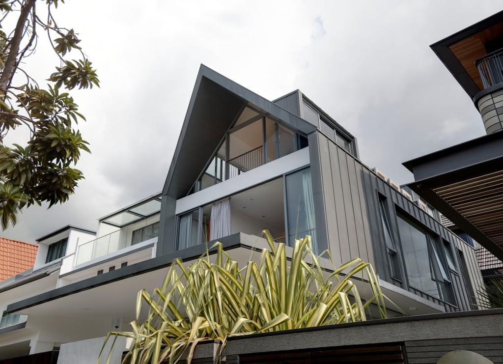Contemporary, Landed, Jalan Sukachita, Architect, Lim Ai Tiong (LATO) Architects