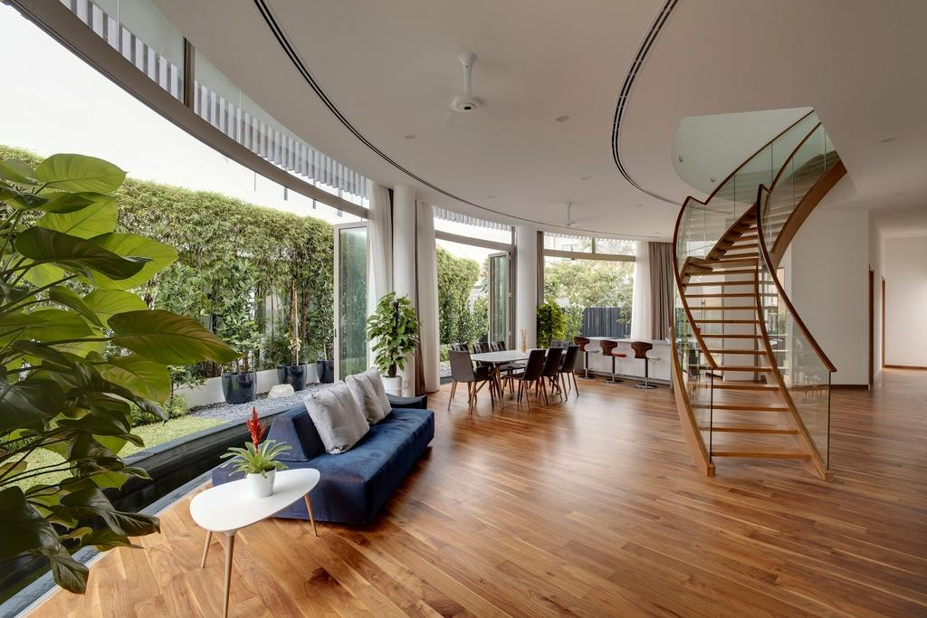 Contemporary, Landed, Living Room, Moreton Close, Architect, Lim Ai Tiong (LATO) Architects, Modern
