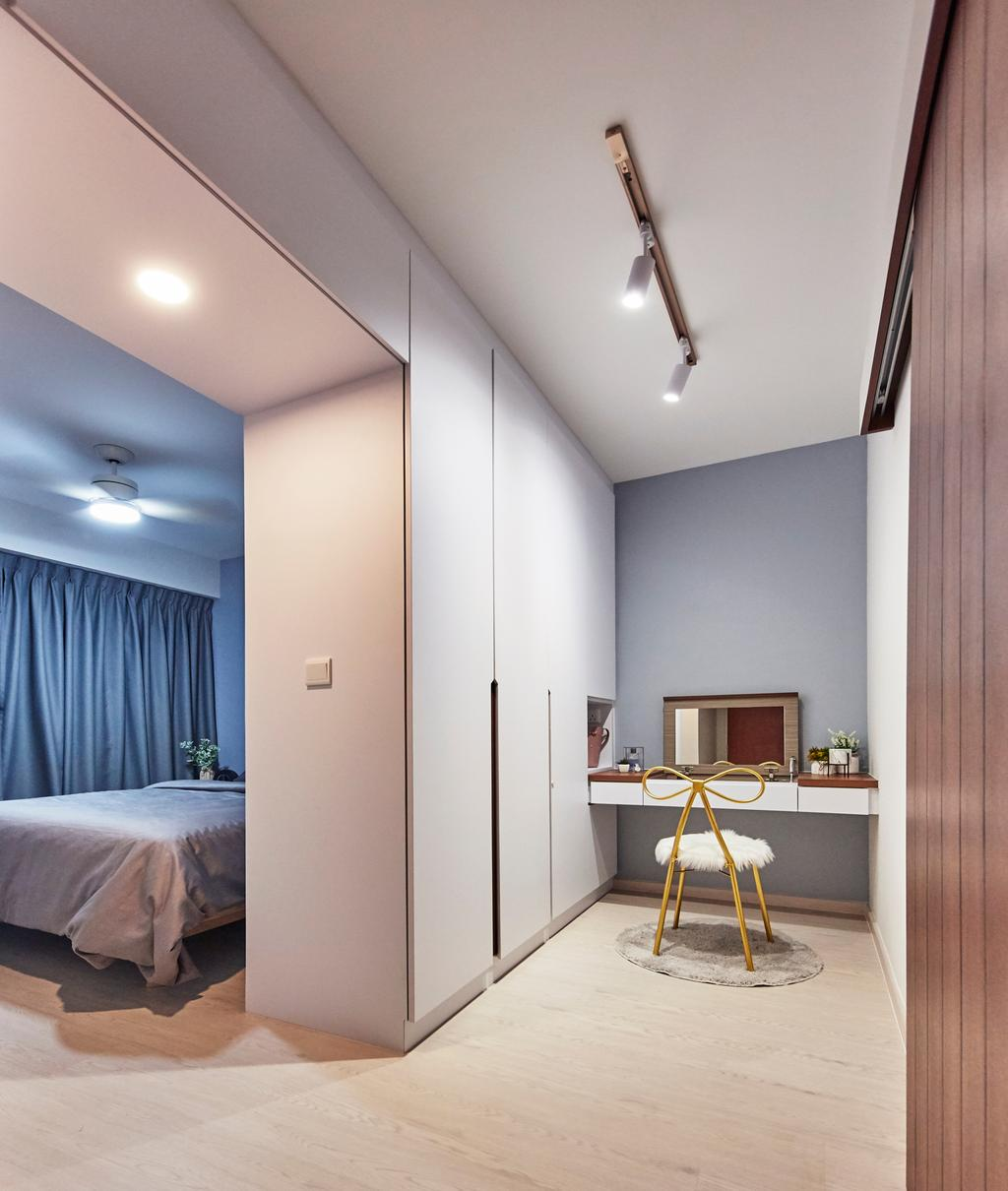 Eclectic, HDB, Bedroom, Sun Natura, Interior Designer, The Interior Lab