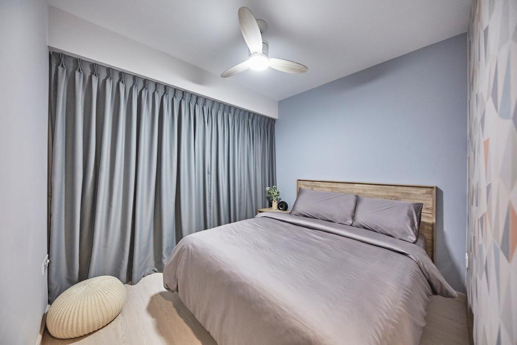 Eclectic, HDB, Bedroom, Sun Natura, Interior Designer, The Interior Lab