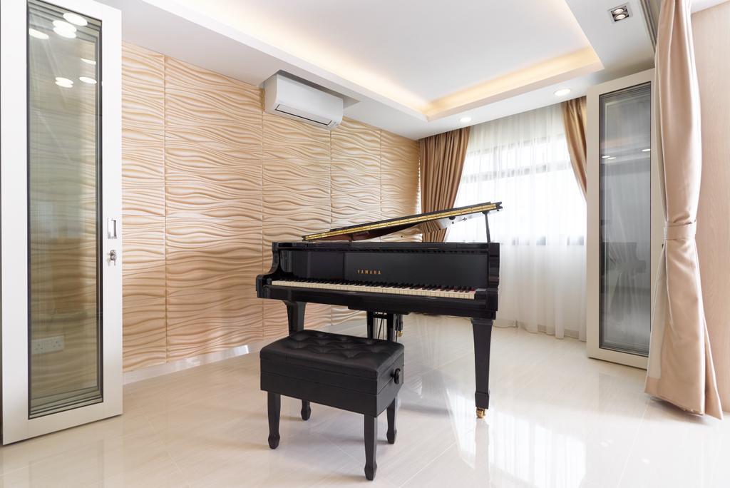 Contemporary, HDB, Living Room, Tampines Street 34, Interior Designer, AgcDesign
