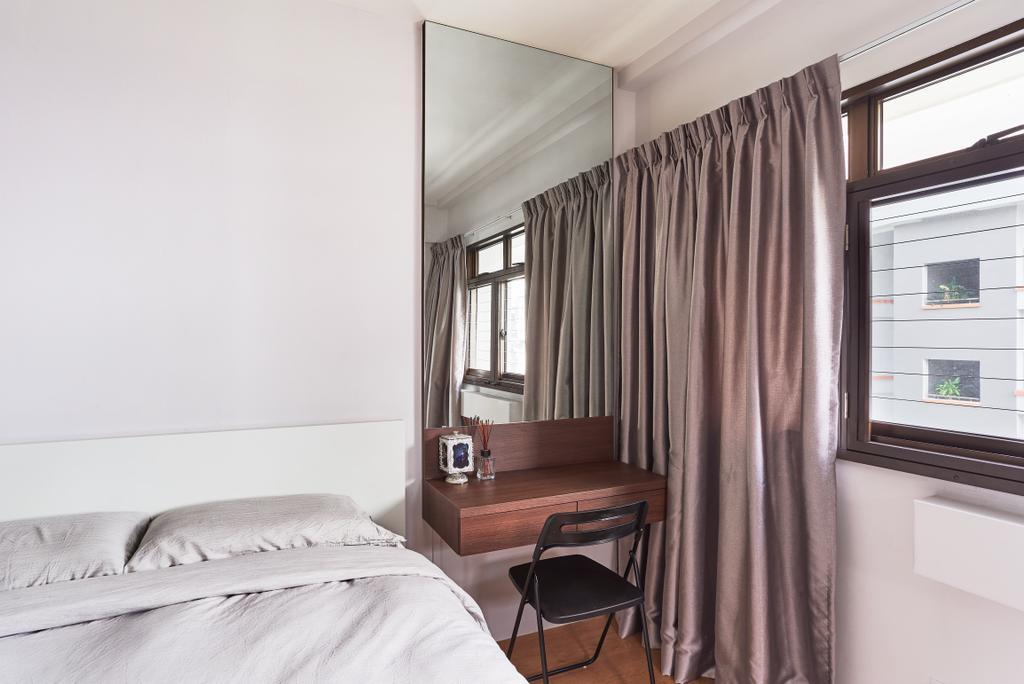 Contemporary, HDB, Bedroom, Tampines Street 34, Interior Designer, AgcDesign