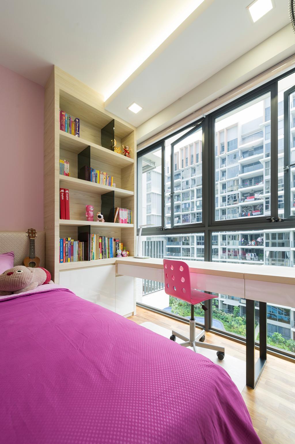 Modern, Condo, Bedroom, Twin Fountains, Interior Designer, TDI Interior