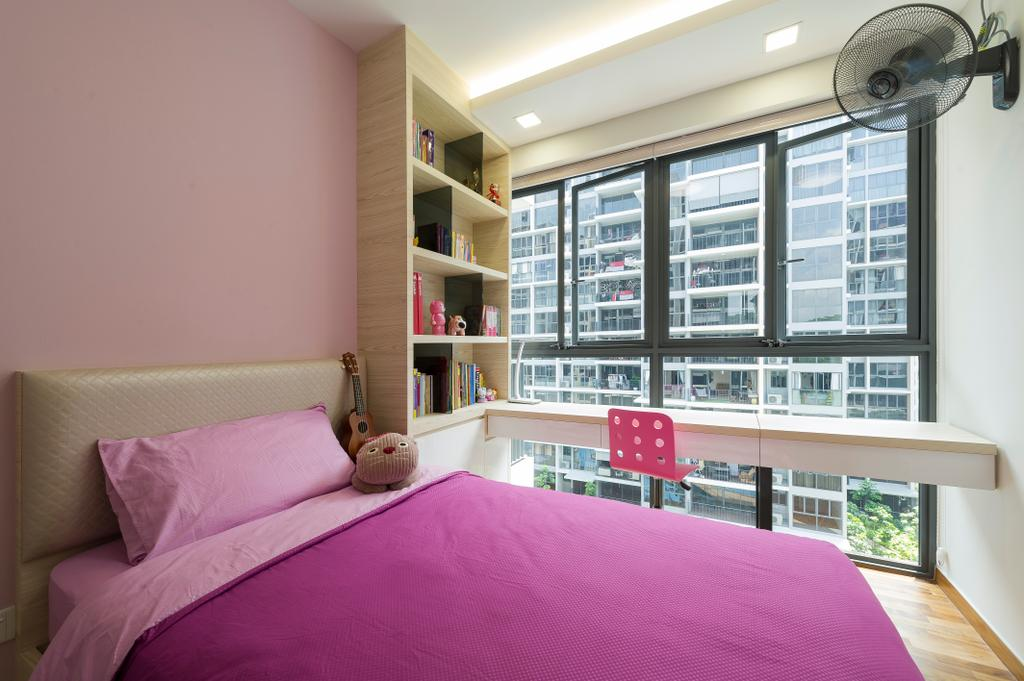 Modern, Condo, Bedroom, Twin Fountains, Interior Designer, TDI Interior