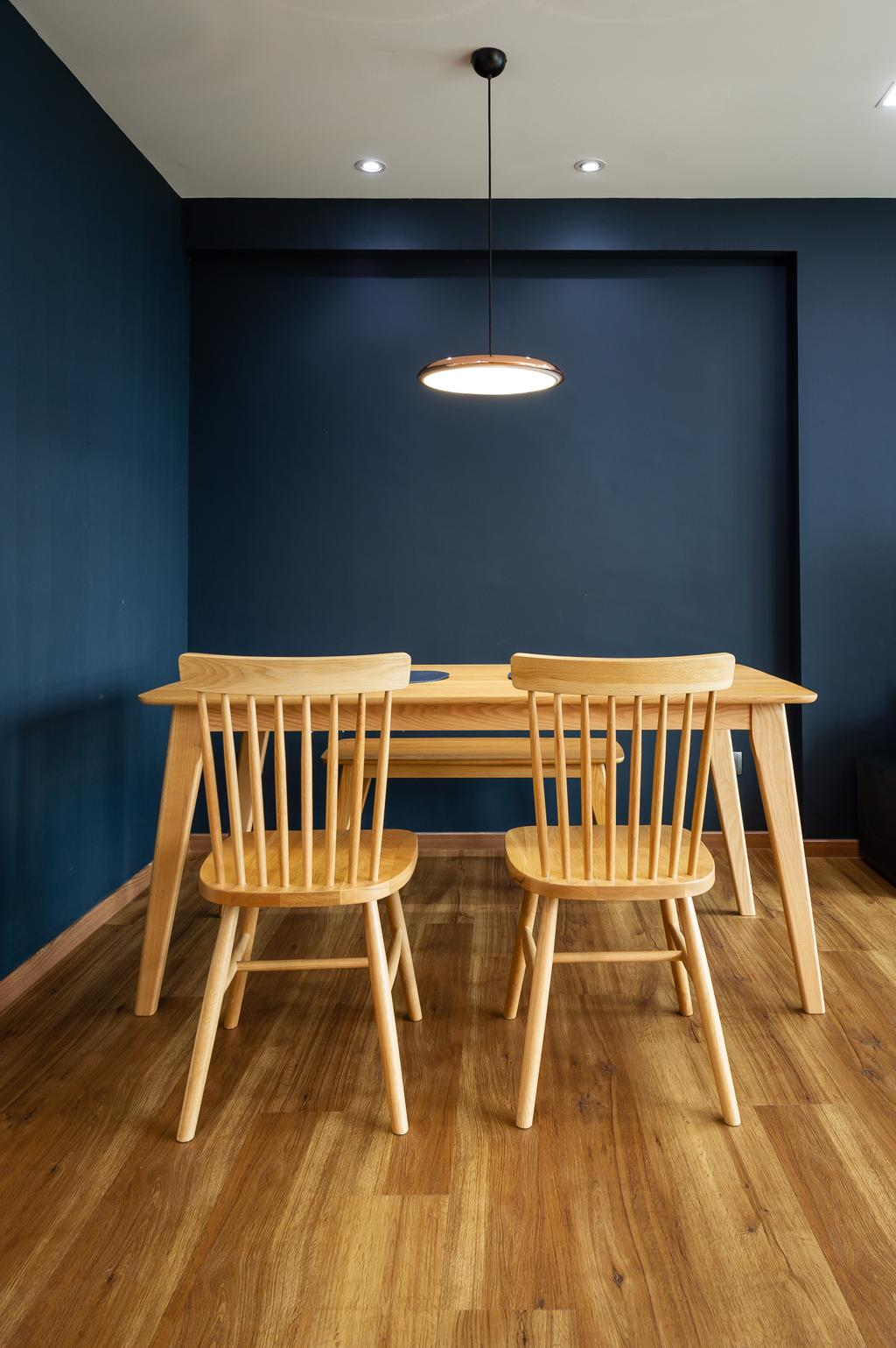 Transitional, HDB, Dining Room, Ang Mo Kio Street 44, Interior Designer, TDI Interior