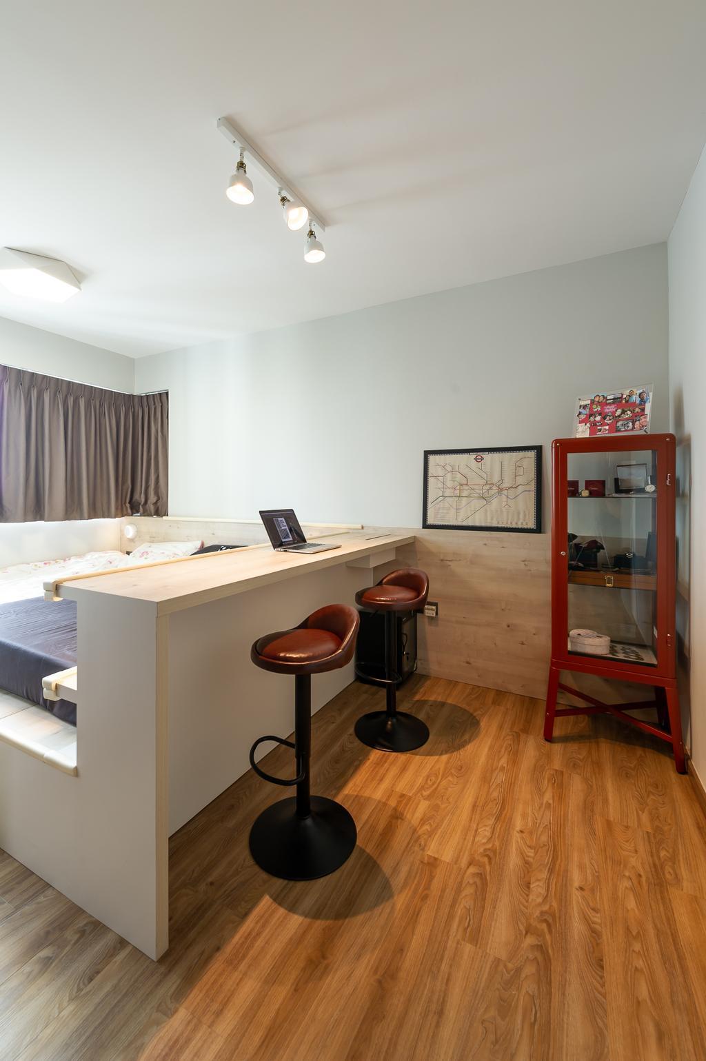 Transitional, HDB, Bedroom, Ang Mo Kio Street 44, Interior Designer, TDI Interior