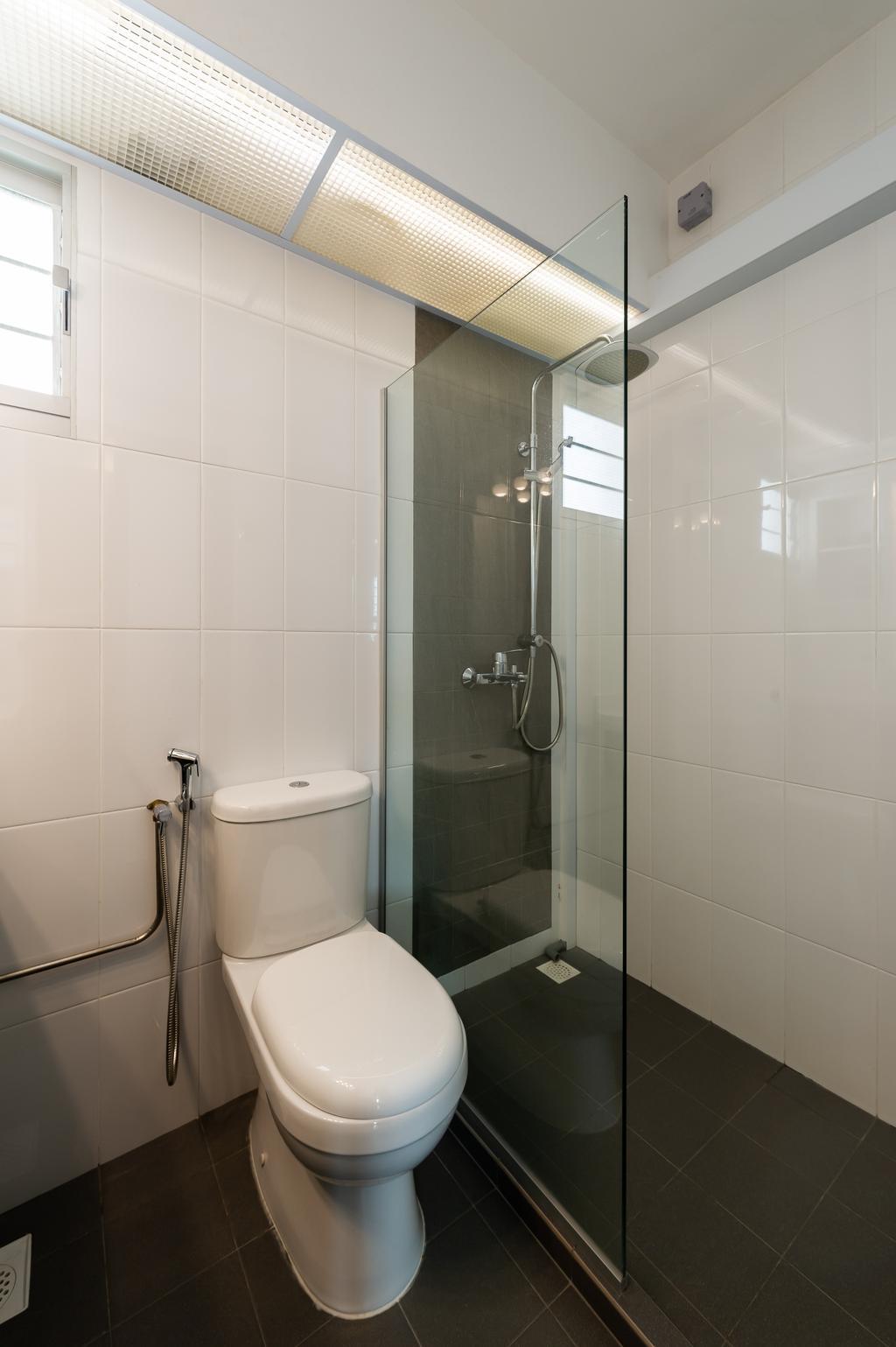 Transitional, HDB, Bathroom, Ang Mo Kio Street 44, Interior Designer, TDI Interior